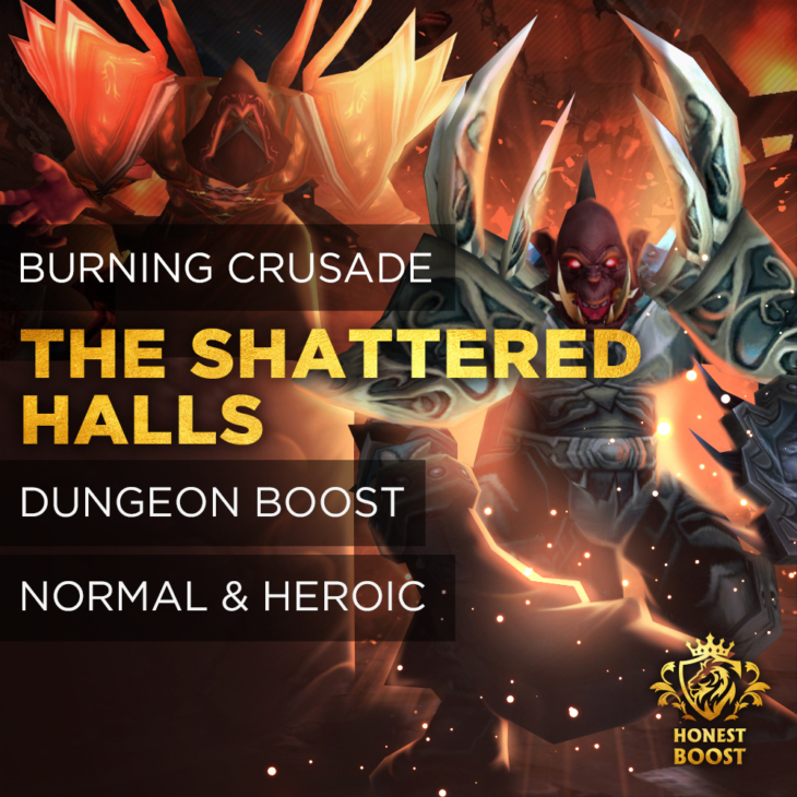 THE SHATTERED HALLS BOOST RUN