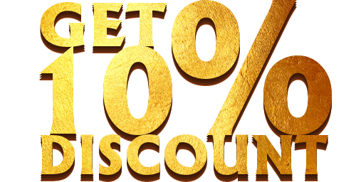DISCOUNT FOR FIRST ORDER
