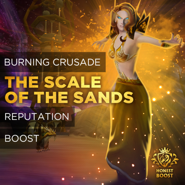 THE SCALE OF THE SANDS REPUTATION BOOST