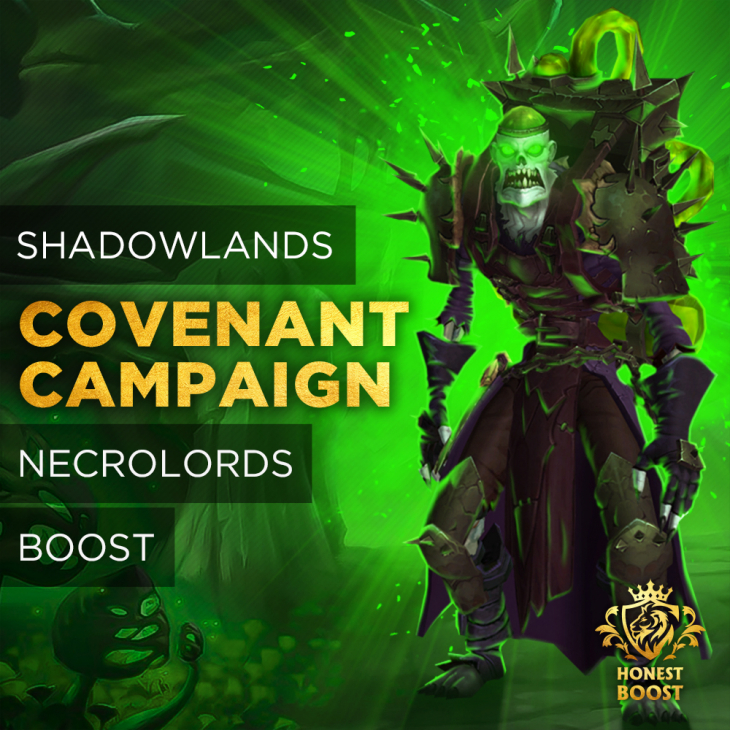 COVENANT NECROLORDS CAMPAIGN BOOST