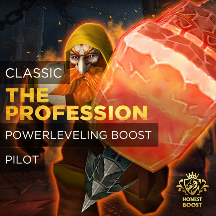 CLASSIC PROFESSION POWERLEVELING BOOST