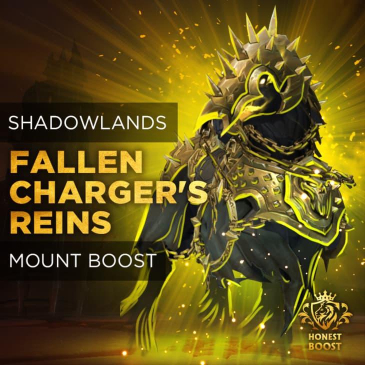 FALLEN CHARGER'S REINS MOUNT BOOST