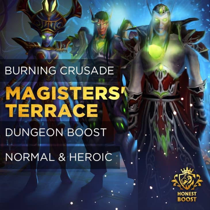 MAGISTERS' TERRACE BOOST RUN