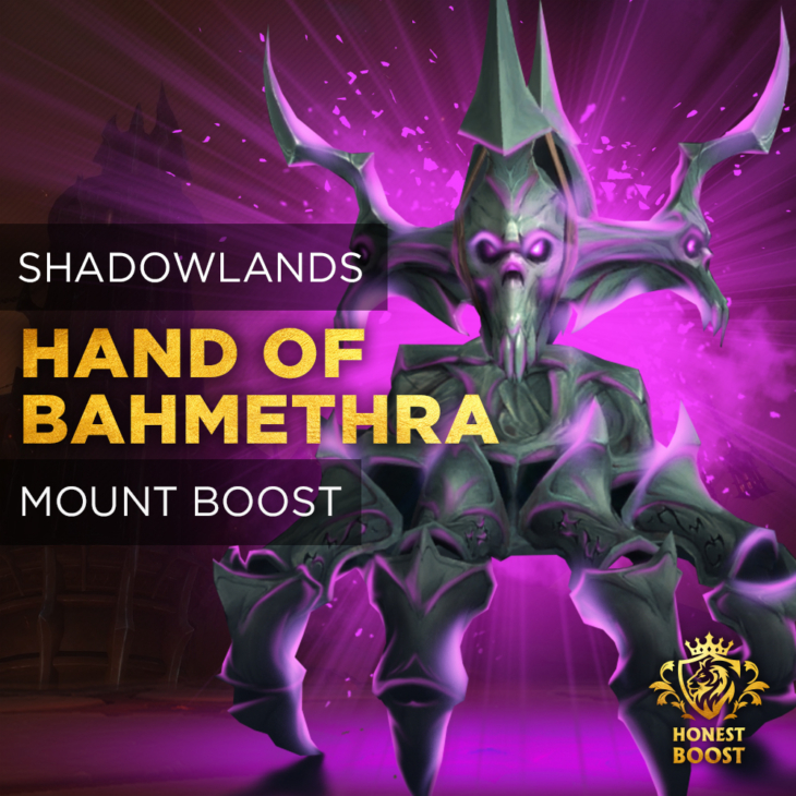 HAND OF BAHMETHRA MOUNT BOOST