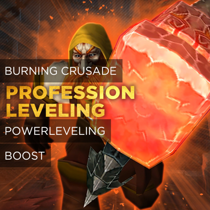 PROFESSION LEVELING BOOST