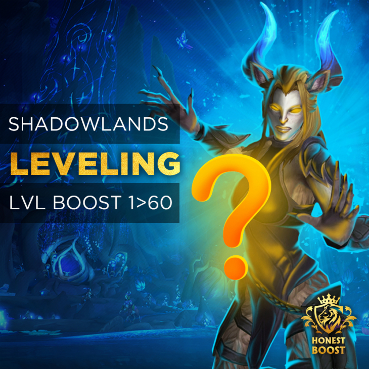 SHADOWLANDS 1-60 LEVELING BOOST
