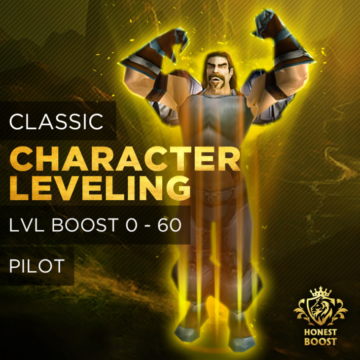 CLASSIC LEVELING 1-60 BOOST