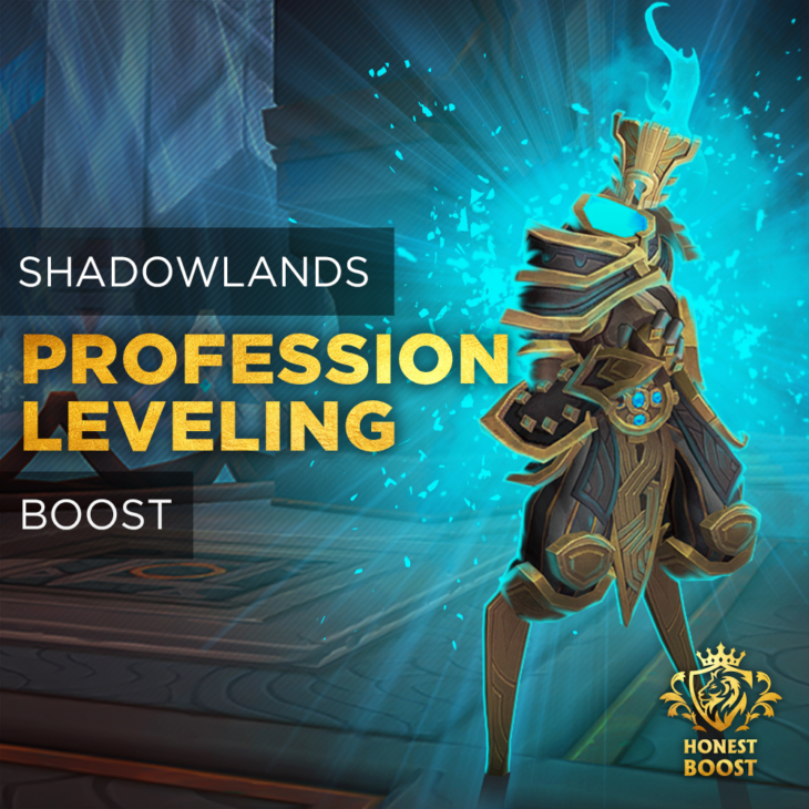 SHADOWLANDS PROFESSION LEVELING BOOST