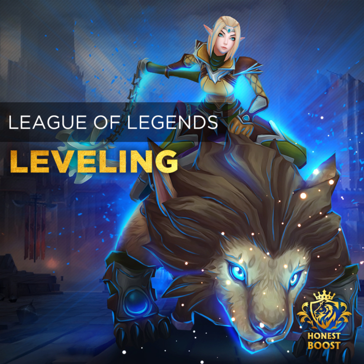 LEAGUE OF LEGENDS LEVELING BOOST