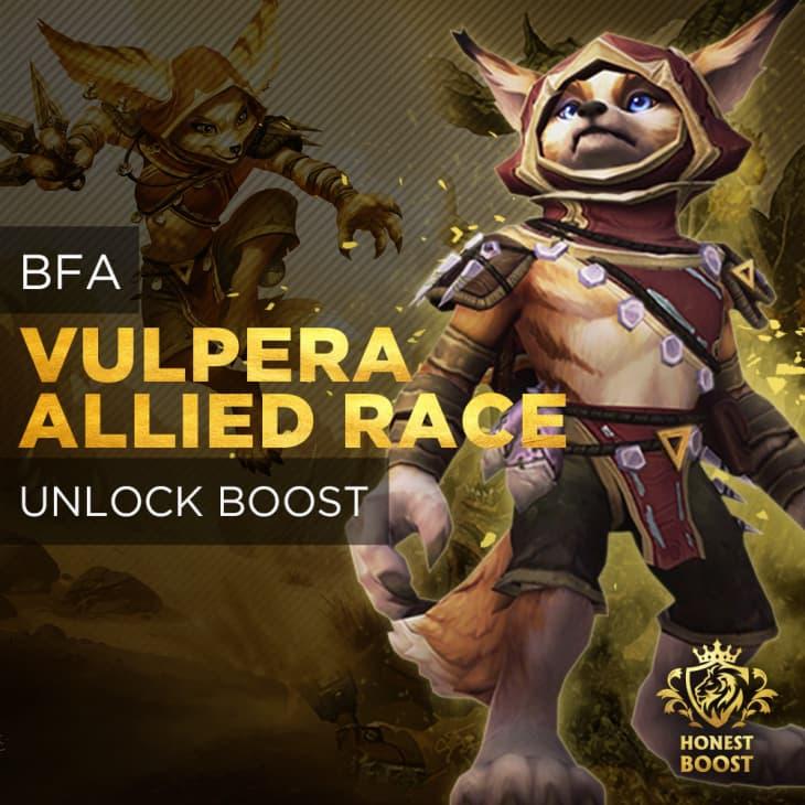ALLIED RACE VULPERA UNLOCK BOOST